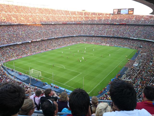 Camp Nou may be the biggest stadium in Europe, but the Church of Barcelona extends deep into Latin America