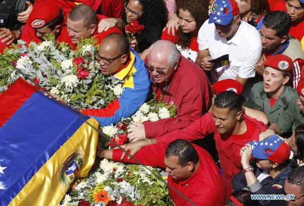 chavez funeral hand