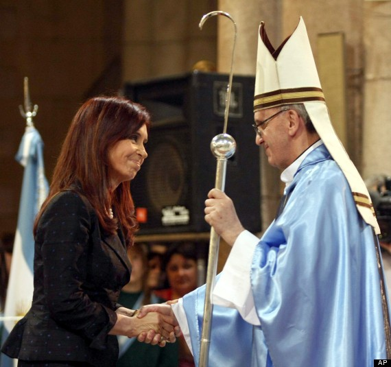 Cristina and the Pope