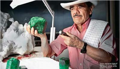 The death of Colombian Emerald Tsar Victor Carranza leaves an open thrown