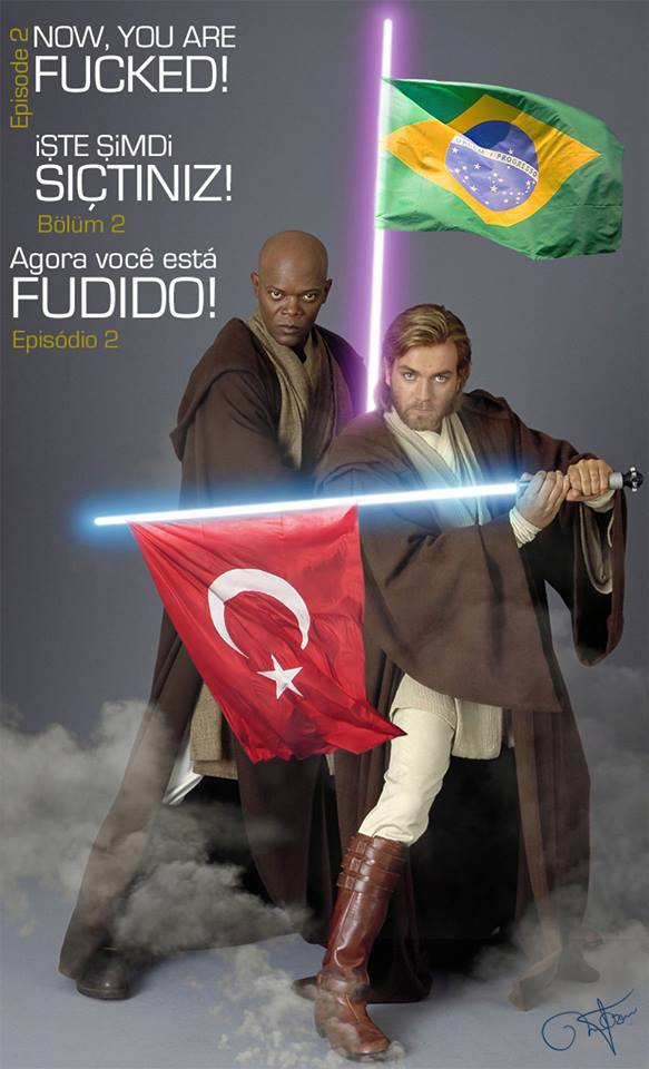 May the force be with them...