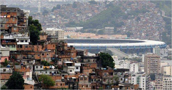 A new colosseum: In the shadow of giants? Or in the shadow of giant favelas?