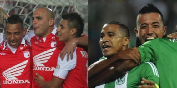 Santa Fe of Bogota and Nacional of Medellin perpare to faceoff in the first leg of the Colombian Championship