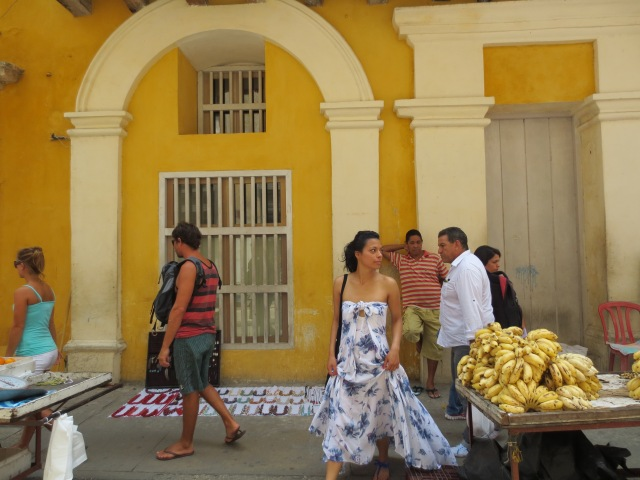 No Se Mancha contributor Natalia Lozano in Cartagena