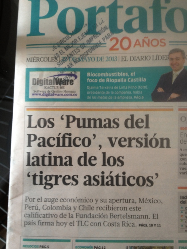 Portafolio shows love with a front page story on the Pumas