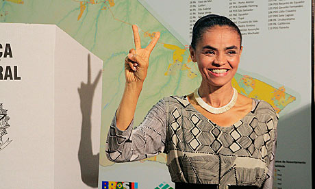Ms. Silva could challenge Dilma