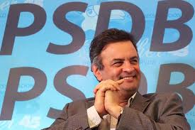 Neves must fend off inter-party challengers before he can take on Dilma