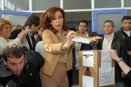 Its on! Argentina heads to the polls