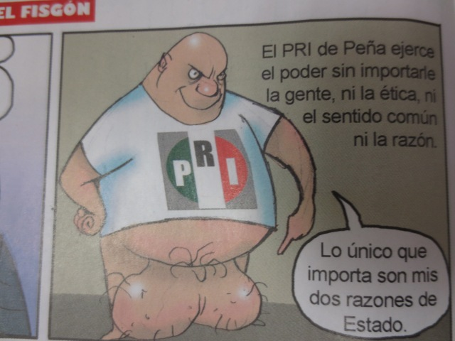 Left-leaning Mexican media  on EPN