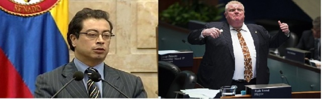 One is a crusader against corruption. the other smokes crack. Guess which one got fired?