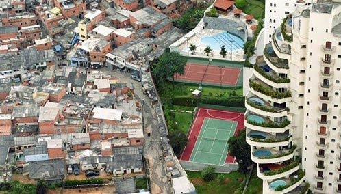 Income inequality remains an issue in Brazil