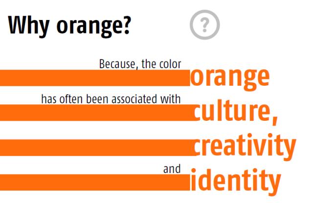 why orange