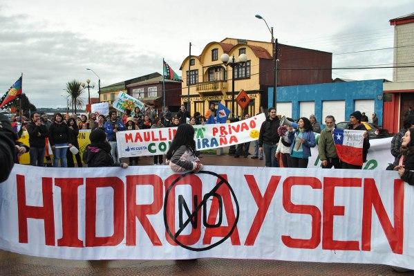 hidroaysen protest