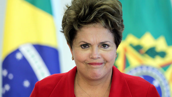 Brazil lost the cup but Dilma's eyes are still on the prize