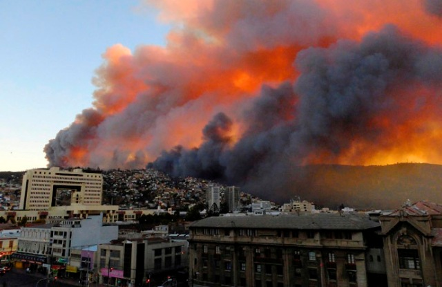 Valparaiso burns: deadly natural disasters are on the rise