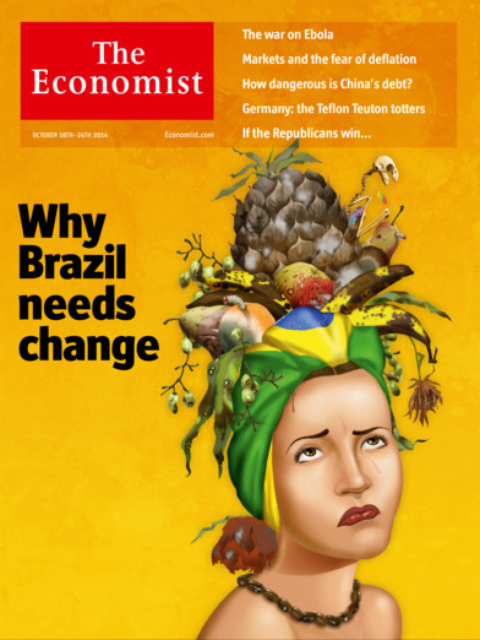 In the end Brazilians felt the didn't need that much change after all.