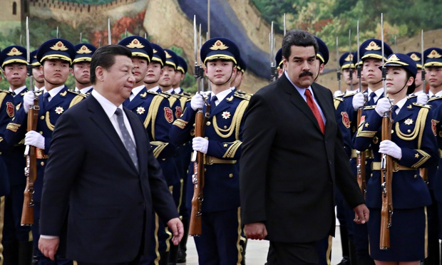 He said Xi said: China was mum on future financing for Maduro's government