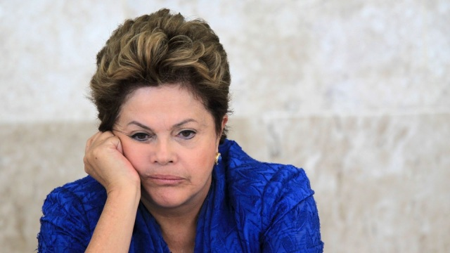 Things are getting serious for Brazil's President Dilma Rousseff