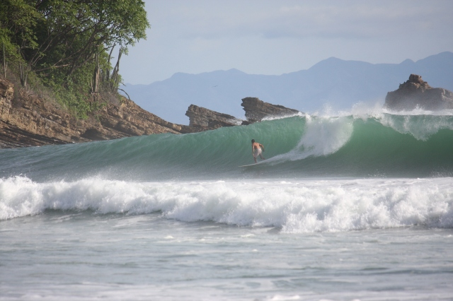 The waves have been good for Nicaragua lately